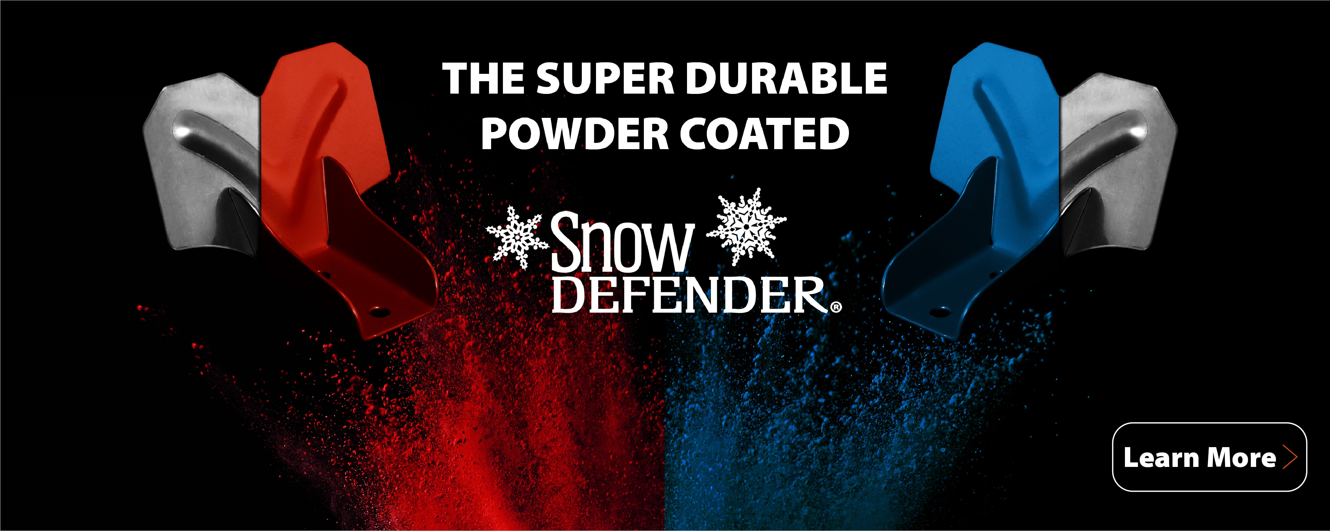 Super durable powder coated snow defender1-01-min