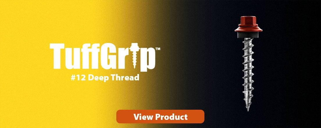 Tuffgrip #12 deep thread